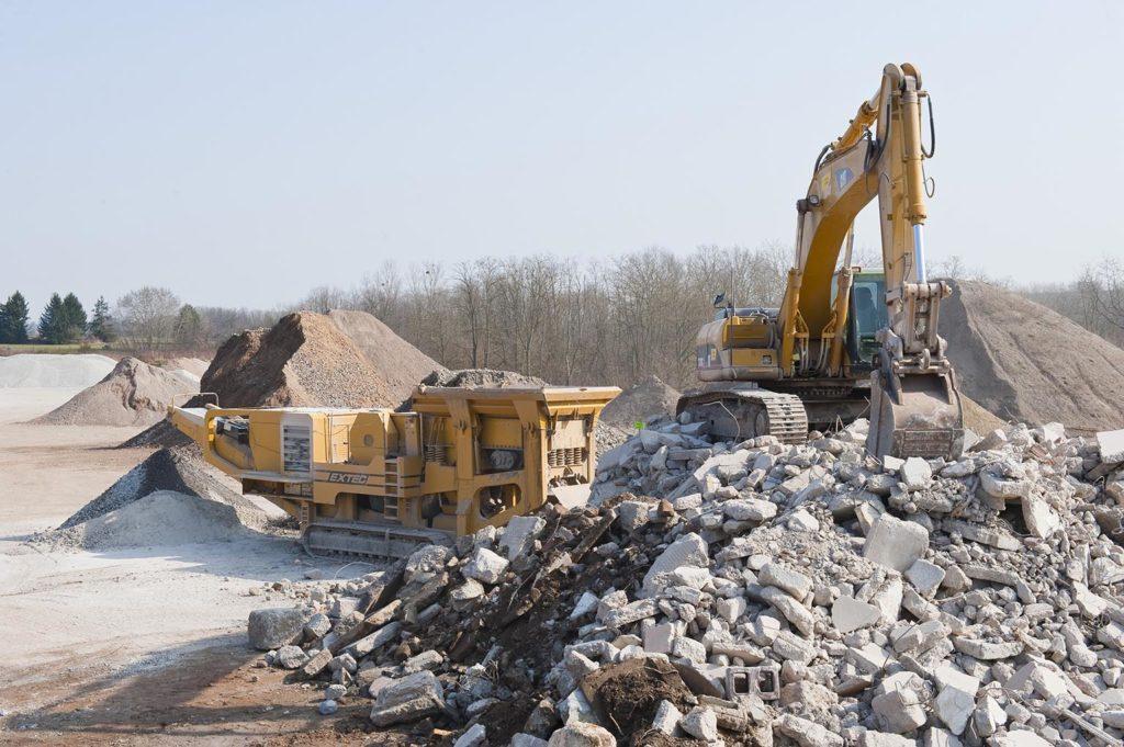 CGR Lorraine Tellos déchets chantier concassé