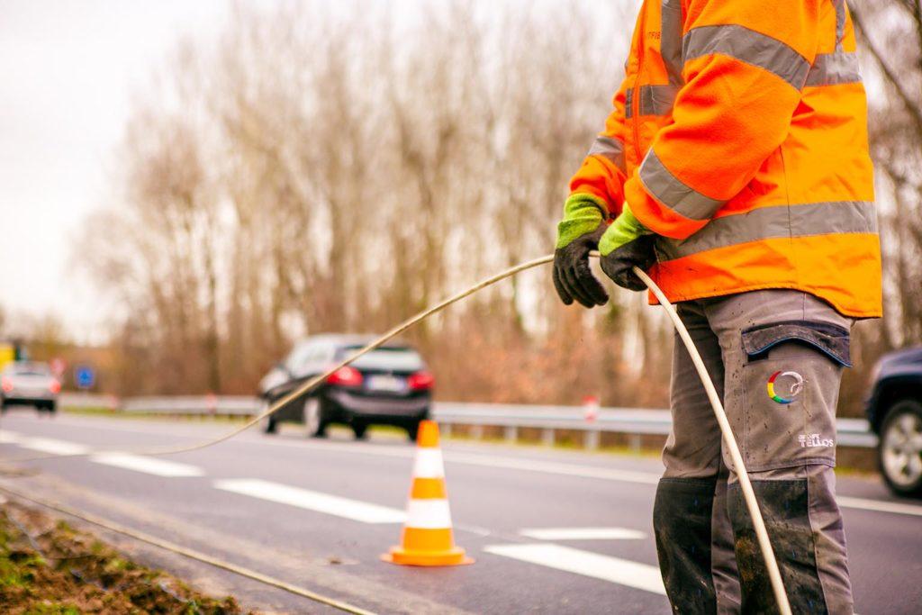 Smartfib Tellos déploiement fibre optique Strasbourg